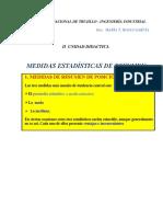 MEDIDAS ESTADISTICAS 2