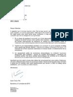 El president Torra respon el president espanyol per carta