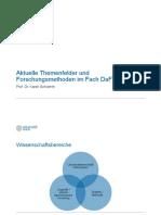 Aktuelle Themenfelder Der DaF-Forschung (1)