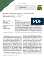 Sd Grk Wwtp Estimasi-10[JURNAL Estimation of Greenhouse Gas Generation in Wastewater Treatment]