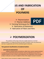 S & F of ploymers