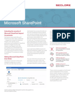 DS Seclore Microsoft SharePoint