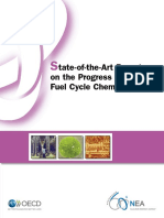 State-of-the-Art Report on the Progress of Nuclear Fuel Cycle Chemistry