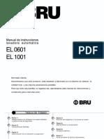 BRU EL 0601 Manual de Uso