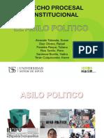 Asilo Politico-procesal Constitucional