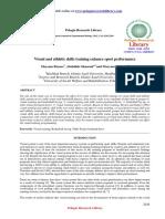 Visual and Athletic Skills Training Enhance Sport Performance