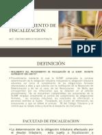4.- Procedimiento de Fiscalizacion
