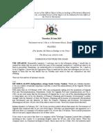 Hansard June 20 - Landlord Tenant Bill Debate Extracts