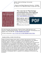 The Journal of Psychology Volume 38 Issue 2 1954 [Doi 10.1080_00223980.1954.9712941] Stern, Ferdinand; Karson, Samuel -- Motivation and Attention- A Methodological Problem