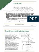 Teori Ekonomi Klasik Dan Keyness
