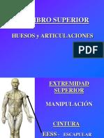 1 Miembro Superior Huesos y Articulaciones
