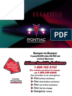 2000 Pontiac Bonneville Owners