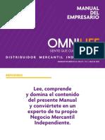 Manual Del Empresario Omnilife