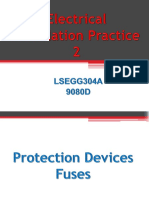 Protection device fuse