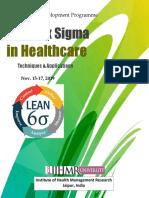 Lean Six Sigma Healthcare