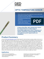 Fiber optic sensor, High Voltage Temperature Sensors, LSENSU | Rugged Monitoring
