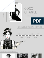 DISEÑO DE MODA 1, COCO CHANEL