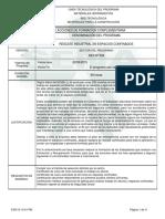 Informe Programa de Formación Complementaria(1) Rescate Industrial en Espacios Confinados