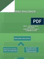 DISCURSO DIALÓGICO LENGUA