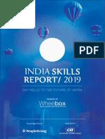 India Skill Report-2019