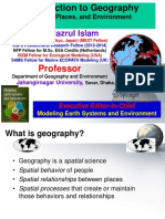 Lecture 01 NSU Fall EnV203 GEO205 Introduction to Geography