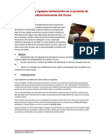 Proceso de Industrialización Del Cacao