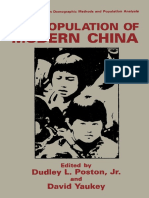 (The Plenum Series on Demographic Methods and Population Analysis) Li Muzhen (auth.), Dudley L. Poston Jr., David Yaukey (eds.)-The Population of Modern China-Springer US (1992).pdf