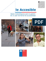 Documento Tecnico de Referencia, Plan Chile Accesible