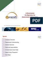 e Governance Co Operation Sparsh