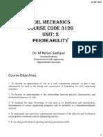 soil mechanics permeability