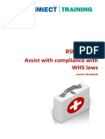 OHN 1.2 BSBWHS402 Learner Workbook V1.1