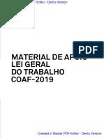 Material de LGT (Angola)