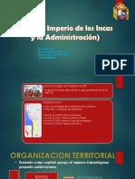 El imperio de los incas y su Administración