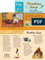Freedom Soup Teacher Tip Card