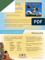 Weslandia Teacher Tip Card
