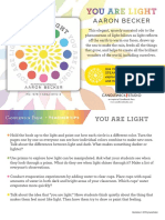 You Are Light Teacher Tip Card