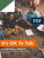 Public Engagement Annual Report 2016 2017