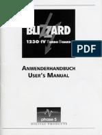 Blizzard 1230 IV Turbo Board