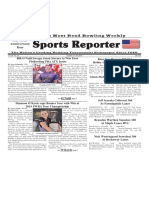 October 23 - 29, 2019   Sports Reporter