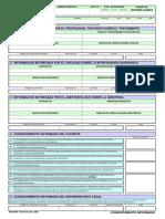 Form 024 Autorizaciones y Consentimiento Informado