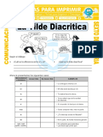 Ficha La Tilde Diacritica Para Sexto de Primaria