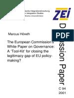 WhitePaper EC on Governance