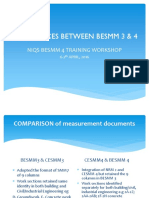 Differences Between Besmm 3 4