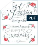 390010145 Hand Lettering Step by Step PDF