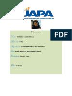 .Tarea 1 Etica Profesional Del Psicologo (Autoguardado)