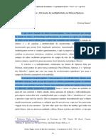 Clínica Transdisciplinar (Cristina Rauter)