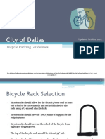 City of Dallas Bicycle Facilities