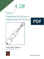 Cuaderno de lectura flauta de pico