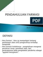 1. PENDAHULUAN FARMASI