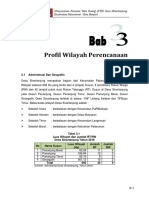 BAB 3 Profil Wilayah Perencanaan